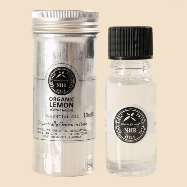 EFL Organic Lemon Essential Oil 10ml